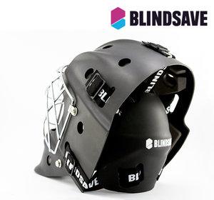 Blindsave Goalie Mask matt black