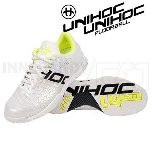 Unihoc U4 STL LowCut Lady white/yellow