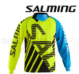 Salming Goalie Jersey Travis - Fluo Yellow / Light Blue