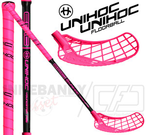 UNIHOC Epic Youngster 36 pink/black