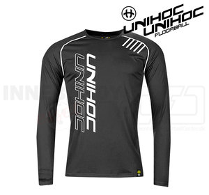 UNIHOC T-shirt Warm-up Longsleeve black
