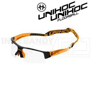 Unihoc Eyewear Victory Junior neon orange / black