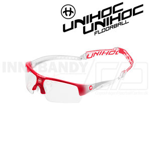 Unihoc Eyewear Victory Kids red / white