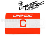 Unihoc Captain's band Skipper red / white