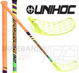 UNIHOC Replayer 32 neon yellow