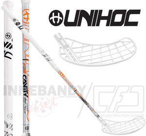 UNIHOC Player Super Top Light 26 white 2-pack