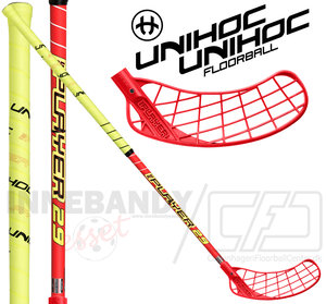 UNIHOC Replayer 29 red / neon yellow