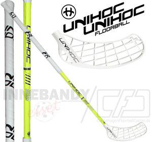 UNIHOC Player+ 29 neon yellow 2-pack