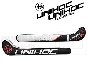 Unihoc Stickbag Supersonic Junior 80 - 87 cm black/white/red
