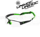 Unihoc Eyewear Victory Kids black / neon green