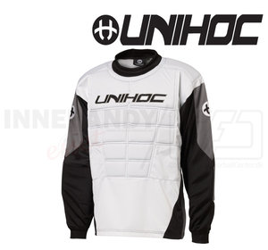 Unihoc Blocker Goalie Jersey white/black