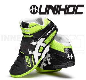 Unihoc U3 Goalie neon yellow / black