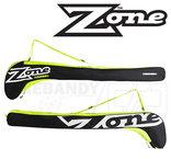 Zone Eyecatcher Stickbag black/white/lime