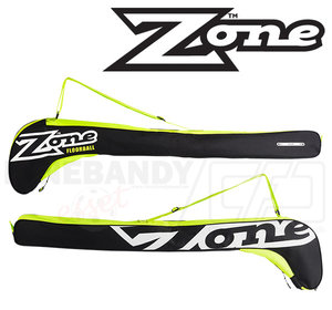 Zone Eyecatcher Stickbag black/white/lime