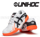 Unihoc U3 Junior white / orange