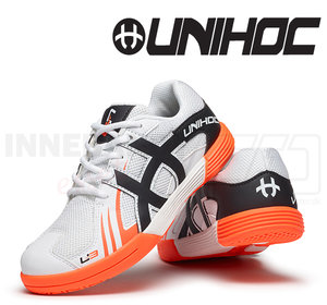 Unihoc U3 Junior white / orange