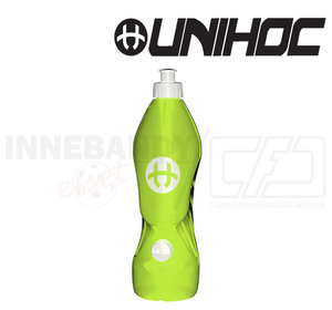 Unihoc Water Bottle Dual Pipe 1L green