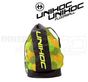UNIHOC Ballbag neon yellow