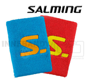 Salming Wristband Short 2-pack red / cyan