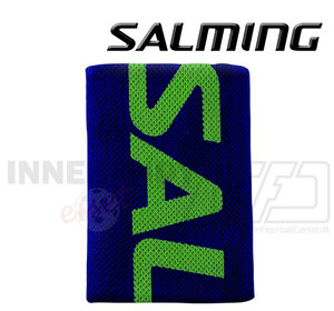 Salming Wristband Logo navy / gecko green