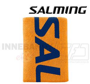 Salming Wristband Logo orange / navy