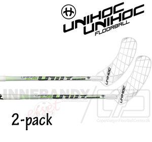 UNIHOC Unity Super Top Light 26 white / neon green 2-pack