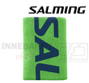 Salming Wristband Logo gecko green / navy