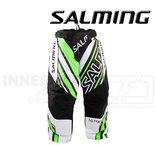 Salming Goalie Pants Phoenix - White / Gecko Green