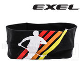 EXEL Headband Big Cotton black/yellow