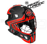 Unihoc Mask Summit 66 Optima black/neon red