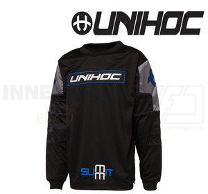 Unihoc Summit Jersey Black/Graphite