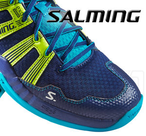 Salming Race R2 3.0 navy / safety yellow