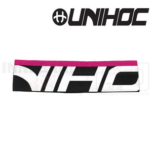 UNIHOC Headband Slick Mid black-white-magenta