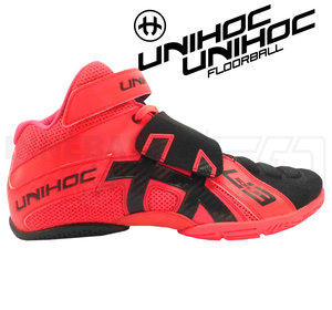 Unihoc U3 Goalie neon red / black