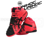 Unihoc U3 Goalie neon red / black