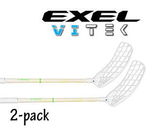 EXEL Vitek 2.9 white 2-pack