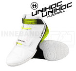 Unihoc U4 Goalie white / neon yellow