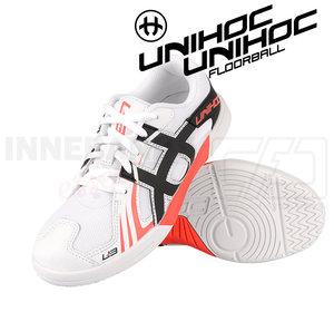 Unihoc U3 Junior white / red