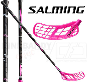 SALMING Q3 X-shaft Tourlite TipCurve 2° 27 black/pink