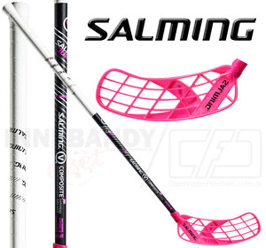 SALMING Q5 Carbon Comp 32 black/magenta