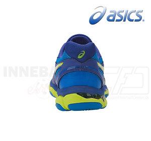 Asics Gel Netburner Ballistic M blue/green