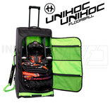 Unihoc Goalie bag Oxygen Line Large with wheels 125 L