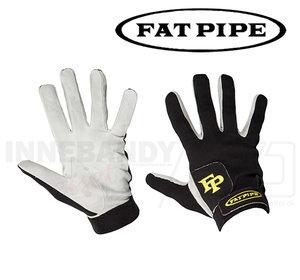 Fat Pipe Goalie Gloves - Leather - black