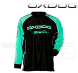 Oxdog Tour Goalie Jersey Black / Tiff Blue