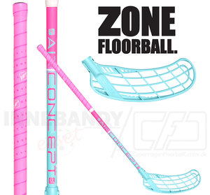Zone Force Air JR 35 pink/turquoise