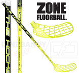 Zone Hyper Hockey Ultralight 27 black/yellow