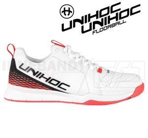 Unihoc U4 PLUS LowCut Men white/red