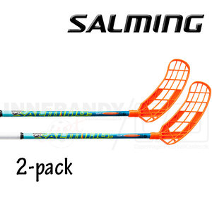 SALMING Q1 TourLite TipCurve 2º 27 blue/orange 2-pack