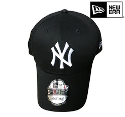 New Era New York Yankees 9forty MLB basic black white