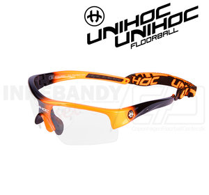 Unihoc Eyewear Victory Kids neon orange / black